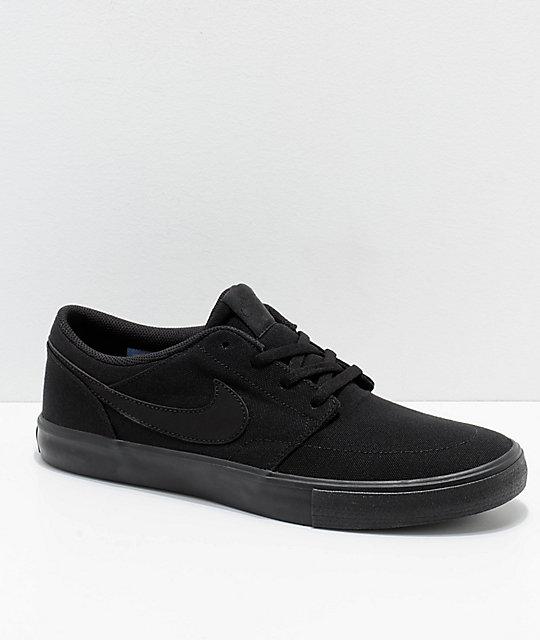 2nike sb solarsoft portmore ii zapatillas de skateboard - hombre