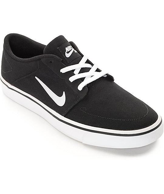 En De Nike Y Skate Negro Zumiez Lona Sb Zapatos Portmore Blanco qW1g4c1B