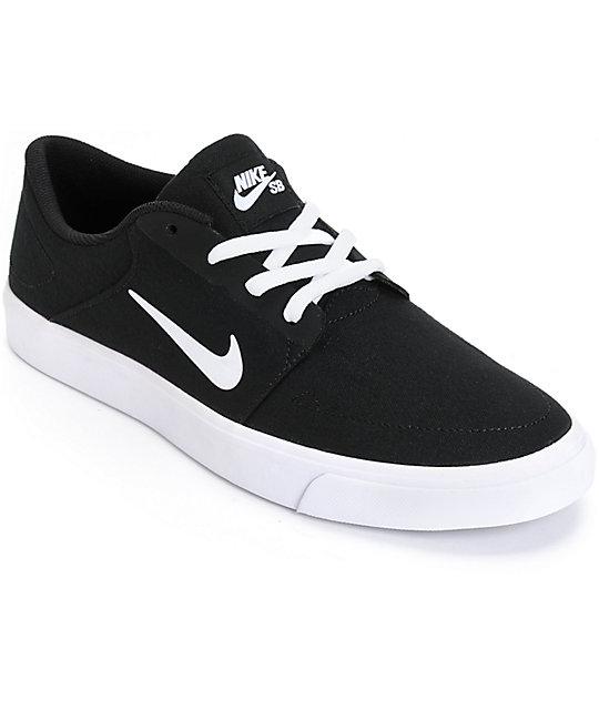 Y Zapatos Zumiez Skate Blanco De Sb Nike Negro Portmore IxYnpw8