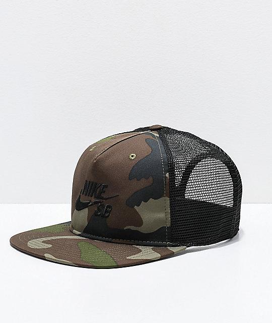 9f44d821c5f Nike SB Pro Camo Trucker Hat