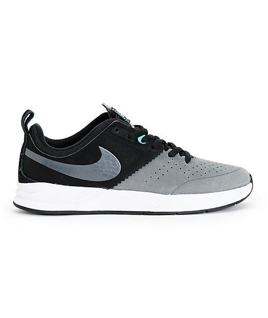 best service 64051 49840 ... Nike SB Project BA Black, Dark Grey,   Crystal Mint Skate Shoes