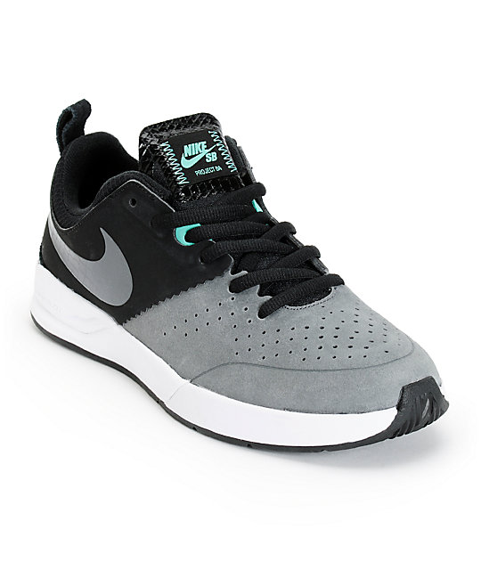 MENS NIKE PROJECT BA in colors BLACK / GREY / CRYSTAL MINT SIZE 8