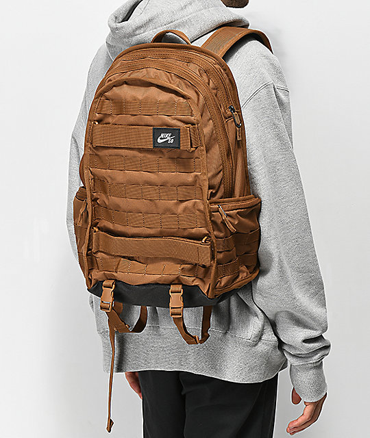 fff05c21bde Nike SB RPM Solid Ale Brown Backpack | Zumiez