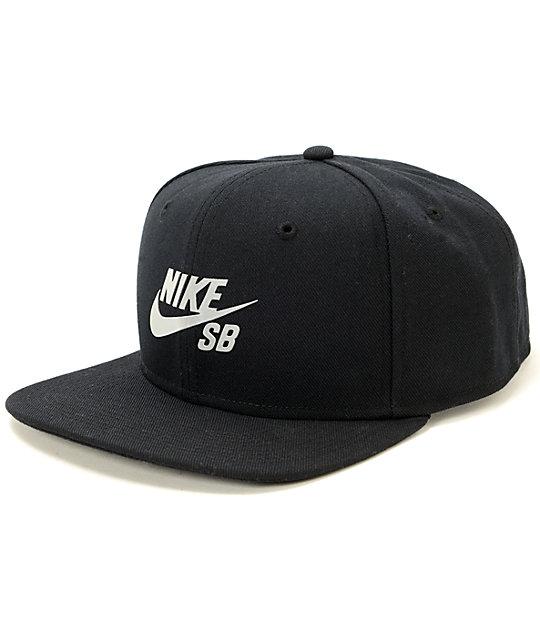Nike SB Reflective Icon Snapback Hat  407e17b8ffb
