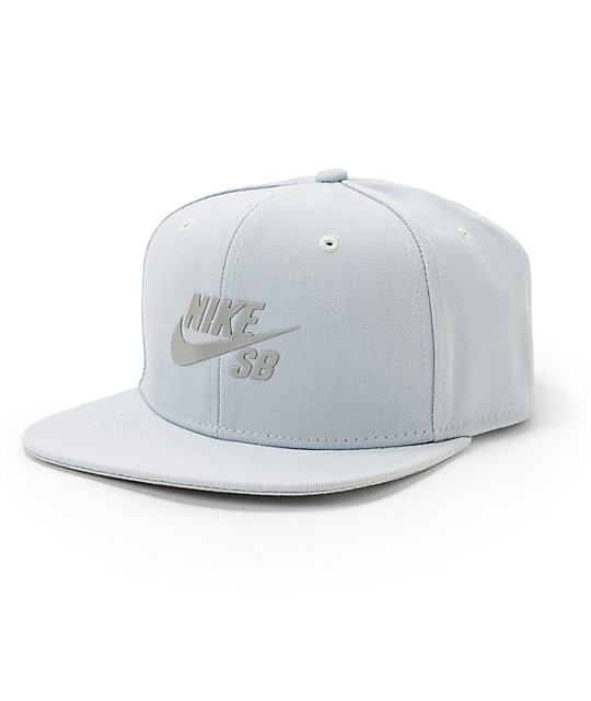 f13bedfdec Nike SB Reflective Icon Snapback Hat