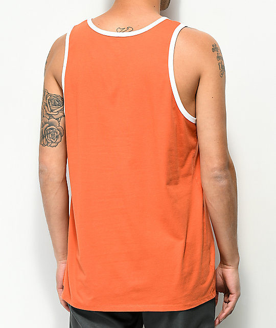 Nike SB Ringer Burnt Orange Tank Top