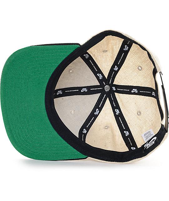 bc4b71d5b11 ... Nike SB S+ Hemp Snapback Hat