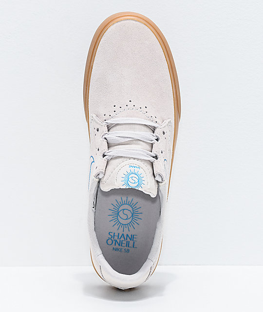 Nike SB Shane White, Lazer Blue & Gum Skate Shoes
