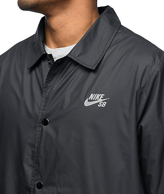 1c1fdd2d46ac ... Nike SB Shield Black Coaches Jacket ...