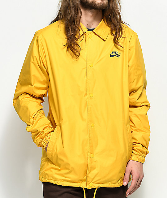 cbac6cf55266 Nike SB Shield Gold Coaches Jacket