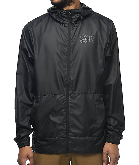 c154345fe0 Nike SB Steele Packable Black Windbreaker Jacket