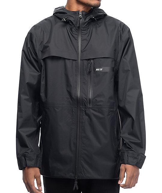 06b6d819 Nike SB Steele Storm-FIT 5 Black Jacket | Zumiez