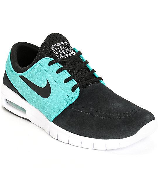 Nike SB Stefan Janoski Air Max Black, Retro, & White Shoes