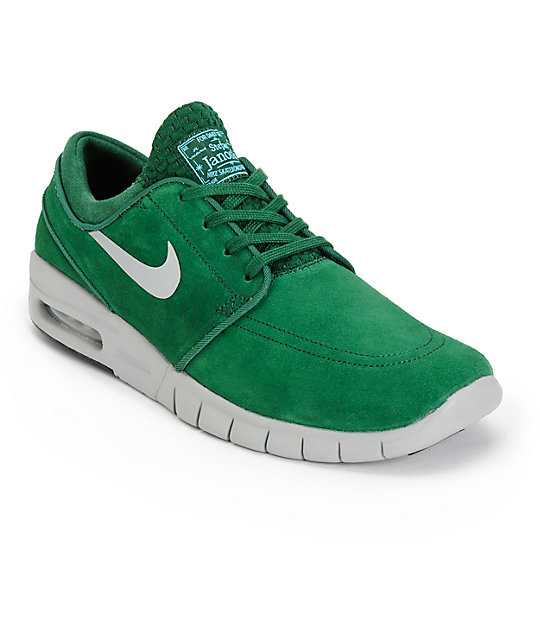 0757930cc7ed Nike SB Stefan Janoski Air Max Gorge Green Shoes