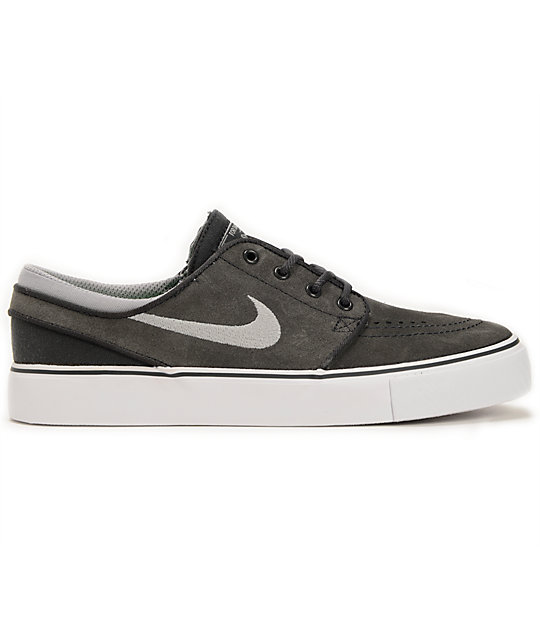 Nike SB Stefan Janoski GS Anthracite \u0026 Stadium Grey Boys Shoes
