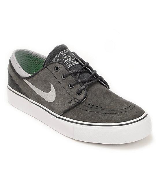 2dd1debadd3 Nike SB Stefan Janoski GS zapatos antracita y gris estadio (niño) ...