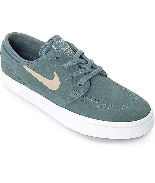 00279cf9cf85 Nike SB Stefan Janoski Hasta   Gold Womens Skate Shoes