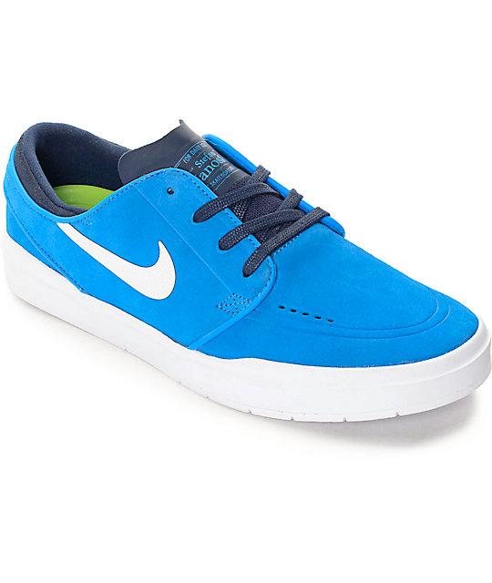 half off 76a6e d686f Nike SB Stefan Janoski Hyperfeel Photo Blue Skate Shoes   Zumiez