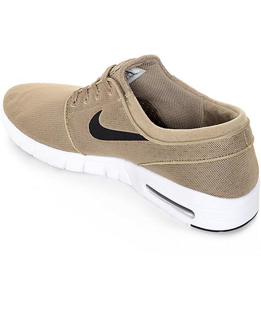 Max Stefan Janoski Caqui Y Negro Nike Sb Blanco Zumiez Zapatos En ASqttO