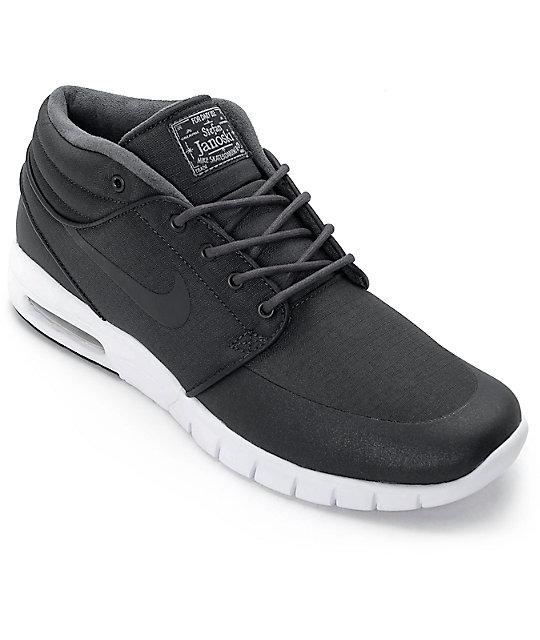 Nike Sb Stefan Janoski Mid Noir Et Blanc Magasin vente images footlocker site officiel de nouveaux styles w1IShRbaF