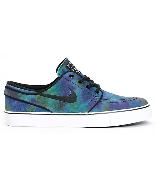 purchase cheap f3fff aecaf ... Nike SB Stefan Janoski Premium Nebula Kids Skate Shoes