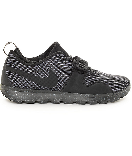 promo code 7473c 6e85c ... Nike SB Trainerendor SE Black  Dark Grey Shoes