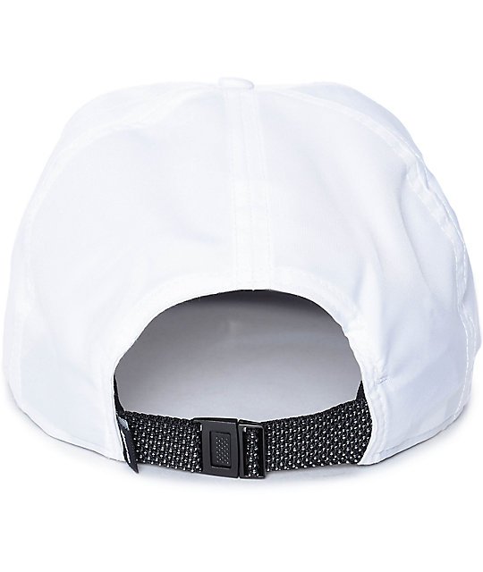 Nike SB White Dri-Fit Unstructured Strapback Hat