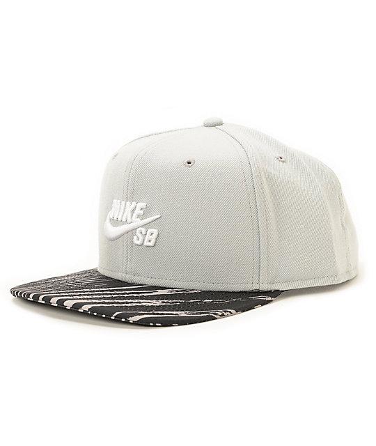 bdad9f5851a Nike SB Zebra Snapback Hat