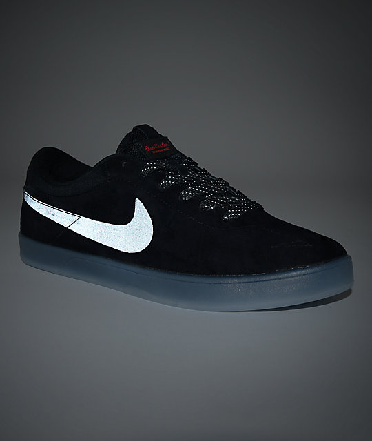 Nike SB Zoom Eric Koston Flash Black & Clear Skate Shoes