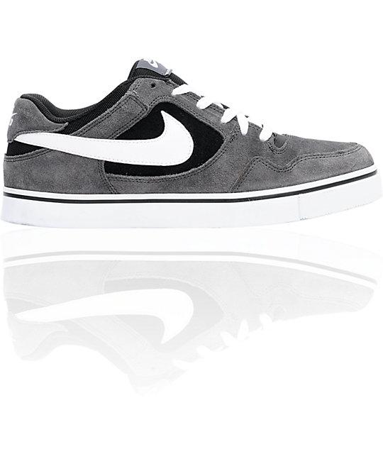sports shoes acb37 19943 Nike SB Zoom P-Rod 2.5 Grey, White,  Black Suede Skate Shoes