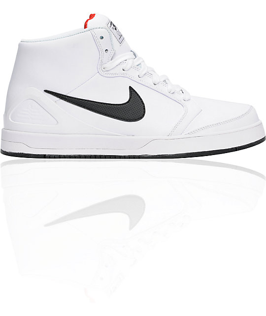 various colors 381e9 e38b3 Nike SB Zoom P-Rod 4 High White   Black Shoes   Zumiez