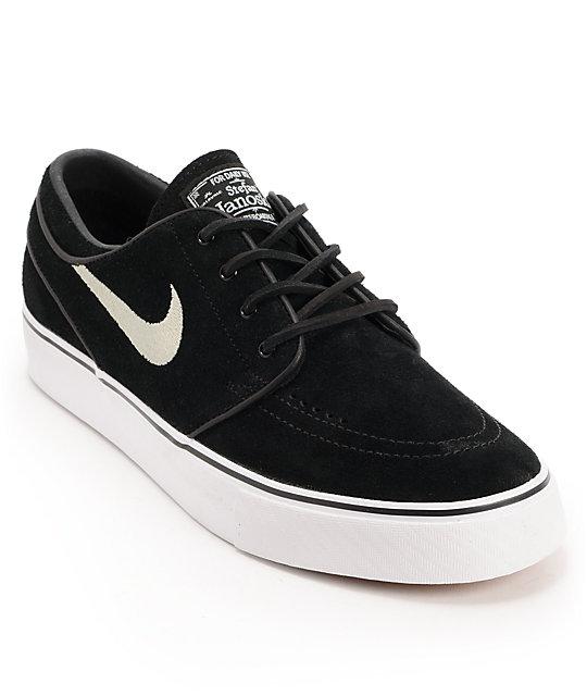 precio competitivo captura venta limitada Nike SB Zoom Stefan Janoski Black Suede Shoes | Zumiez