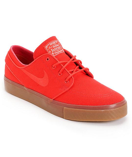 mieux en ligne Nike Sb Zoom Stefan Janoski Toile Rouge Baskets rabais exclusif 2014 plus récent vente 2014 RJtbPhfEYw