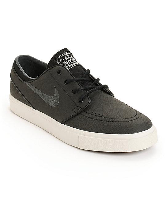 quality design 92962 7b7b6 Nike SB Zoom Stefan Janoski Leather Skate Shoes   Zumiez