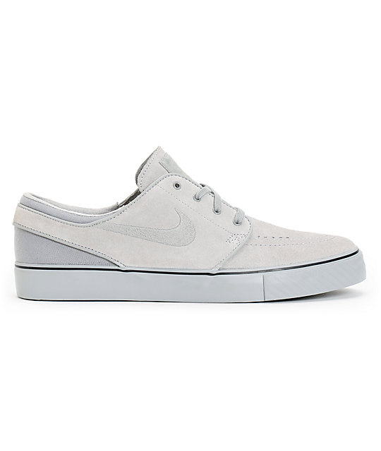 buy popular e5404 77ad1 ... Nike SB Zoom Stefan Janoski Medium Grey, Medium Grey,   Medium Grey  Skate Shoes
