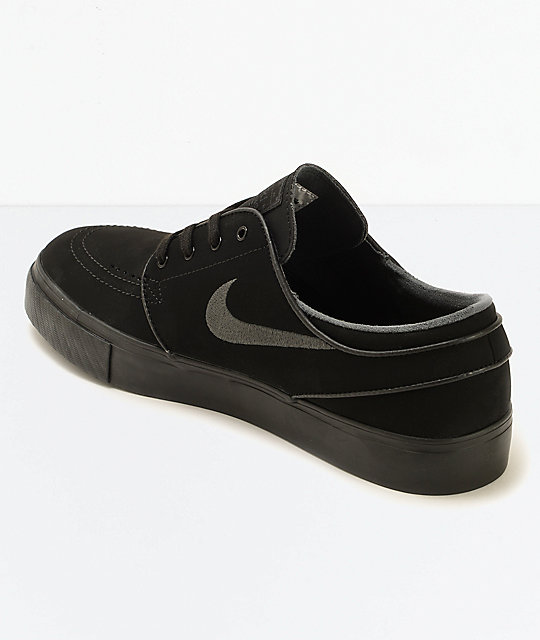 best cheap 3a76c faa7e ... black white 112ef 0689d  authentic nike sb zoom stefan janoski mono  zapatos de skate en negro 4758e 9cb71