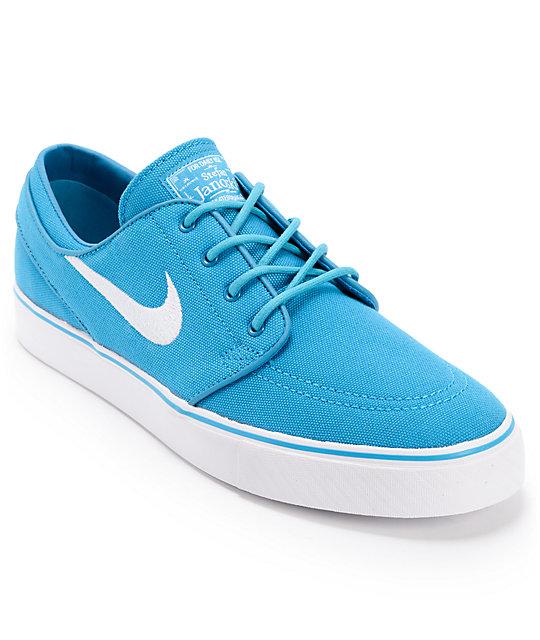 drop shipping dernière à vendre Nike Sb Zoom Stefan Janoski Néo Turquoise Et Chaussures De Toile Blanche nouveau pas cher images footlocker sortie payer avec visa rGEbF8ciNF