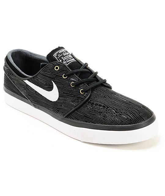 Nike Zoom Janoski Skate Shoe Mens Size 11.5 New in Box Premium Wood Grain