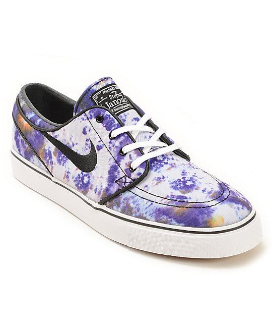low priced 5a627 d2841 Nike SB Zoom Stefan Janoski QS Tie Dye Skate Shoes   Zumiez