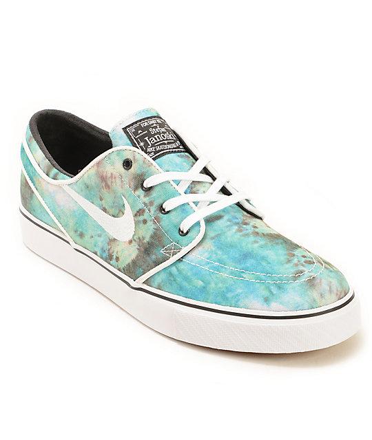 5187e5e3eaa4 Nike SB Zoom Stefan Janoski QS Tie Dye Skate Shoes
