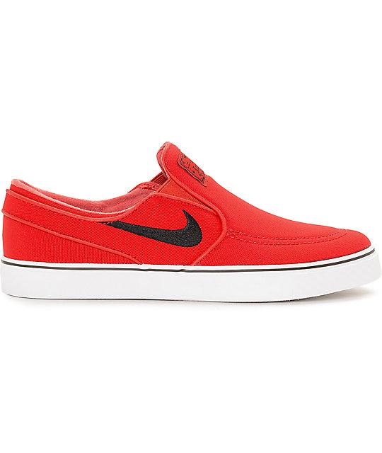 Cercanamente maletero sonrojo  Nike SB Zoom Stefan Janoski University zapatos de skate rojos sin ...