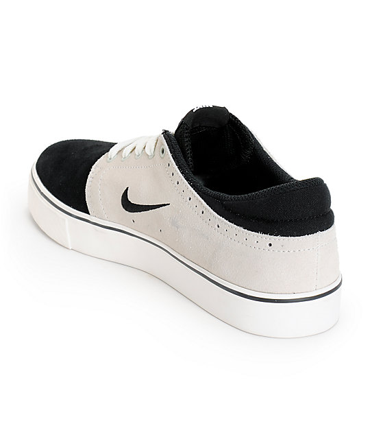 newest 7ff77 1f992 ... Nike SB Zoom Team Edition Black, Bone,  Ivory Skate Shoes ...
