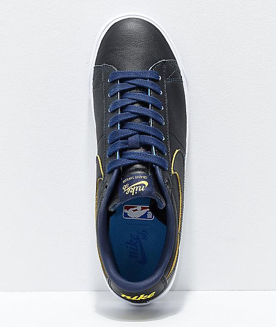 b8e00670bbef ... Nike SB x NBA Blazer Low GT Black