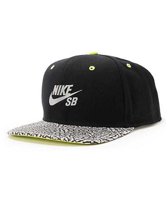 Nike SB x Primitive Elephant & Volt Snapback Hat ...