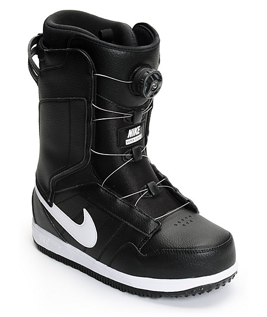 amazon 100% quality special sales Nike Vapen BOA Black & White Snowboard Boots