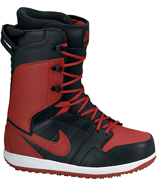 official sells good quality Nike Vapen Black, White, & Varsity Red Snowboard Boots