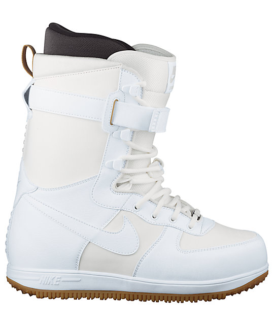 ... Nike Zoom Force 1 White Mens Snowboard Boots ab024c7f6