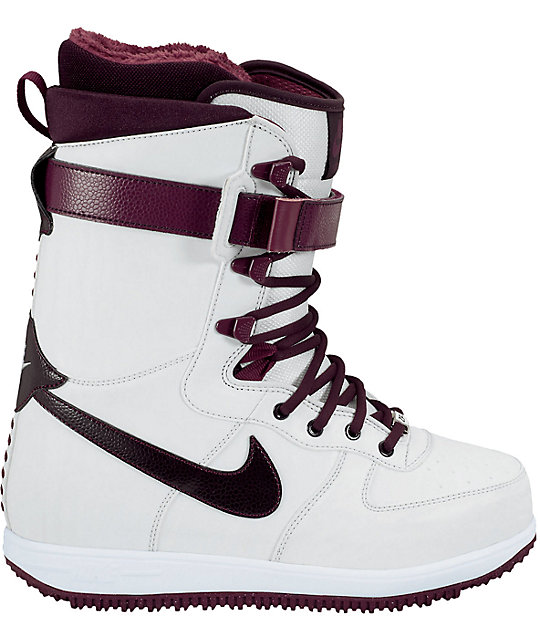 Nike Zoom Force 1 Wind & Wine Womens Snowboard Boots