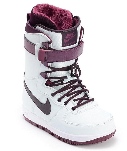 Nike Boots Windamp; Snowboard Womens 1 Zoom Wine Force qSUVMGLzp