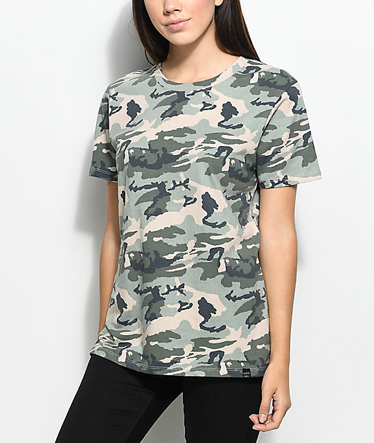 Ninth Hall Addison Camo T-Shirt